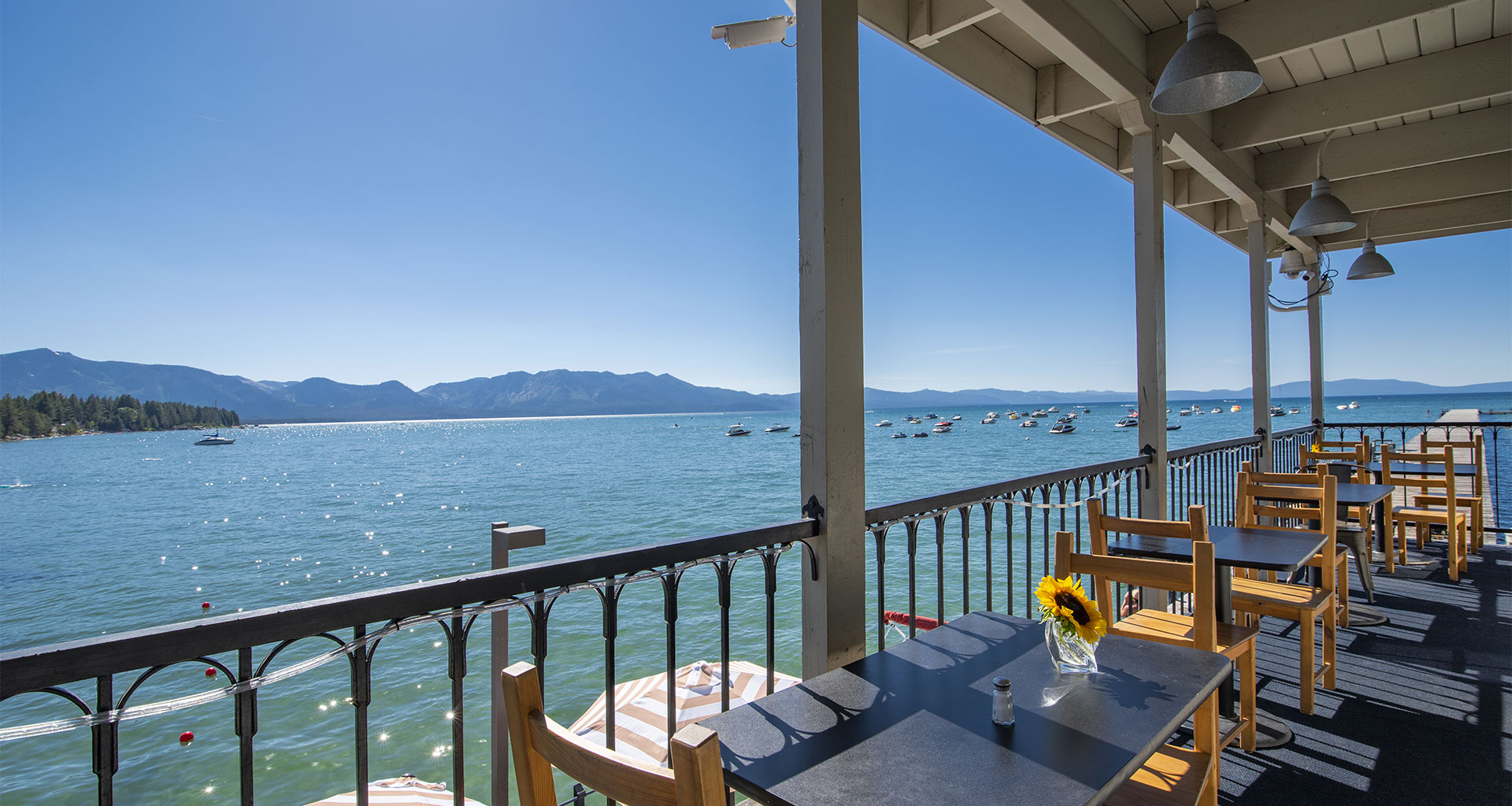 Beach Retreat and Lodge Boat House Balcony Seating